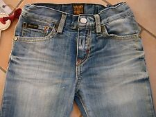 (C201) RARE-The Kid Boys used look Jeans Hose mit Logo Aufnäher 5 Pocket gr.92