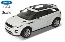 RANGE ROVER EVOQUE | White | WELLY 24021 NEW LAND DIECAST MODEL CAR 1:24 scale