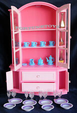 NEW GLORIA DOLL HOUSE FURNITURE BUFFET HUTCH PLAYSET (9511)