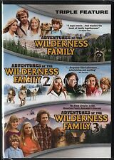 Adventures of the Wilderness Family 1 2 3 DVD Triple Feature Complete Series NEW