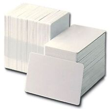 100 Premium Blank White 20mil ID Cards