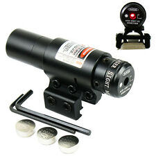 HOT SALE Red Dot Laser sight w/ Mount for 20mm Picatinny & 11mm Rails Stock In
