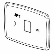 """White Rodgers F61-2634 Wallplate For 90 & 80 Series Blue Thermostats, 6-1/2""""W..."""