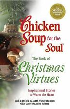 Book, PB Chicken Soup for the Soul - Christmas Virtues Inspiration Heartwarming