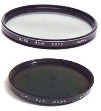 Hoya 82mm ND2 ND4  NDX2 NDX4 ND-2 ND-4  Lens Filter Neutral Density Japan 82 mm