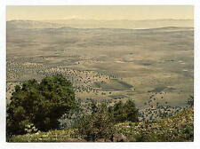Mt Hermon And Plain Of Tabor A4 Photo Print