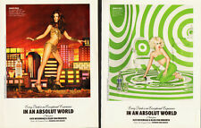 Absolut Vodka~2010 Print Ad~Sexy Models` 2-pgs. (092013)
