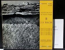 Bach Rogg Grossmünster de Zurich Vol.2 : 590, 588... HMO 30549 LP NM & CV EX