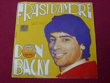 "Don Backy ‎– Frasi D'Amore  7"" 1969    ITALIAN PRESSING"