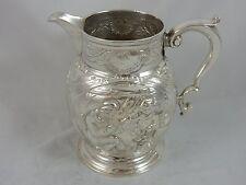 LARGE, GEORGE II solid silver JUG, 1759, 361gm