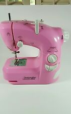 Child's Electric HSN Dressmaker PINK SEWING MACHINE #1104H