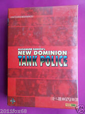 2 dvd,anime,manga,new dominion tank police,collector's edition,complete edition
