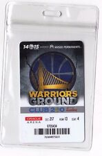 2014-2015 Golden State Warriors Season Ticket Holder Card ID NBA FINALS CHAMPS