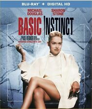 BASIC INSTINCT New Sealed Blu-ray Unrated Director's Cut