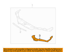 Saturn GM OEM 01-02 L200 2.2L-L4 Radiator Support-Side Panel Right 21019494