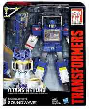 TRANSFORMERS TITANS RETURN LEADER CLASS DECEPTICON SOUNDWAVE & SOUNDBLASTER