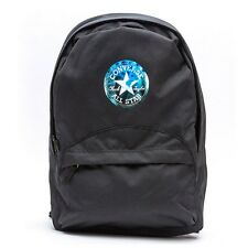 CONVERSE D COMMUTER BACKPACK BLACK SILVER CHUCK TAYLOR ALL STAR  410982 015