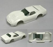 2010 xtras Aurora HO A/P A Production Chevy Corvette BODY Fits AFX TOMY AW 1927