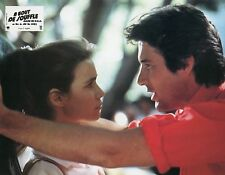 RICHARD GERE VALERIE KAPRISKY A BOUT DE SOUFFLE BREATHLESS 1983  LOBBY CARD N°1