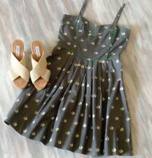 Orla Kiely Iconic RARE Apple Sun Dress EUC