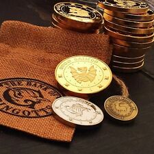 Harry Potter Gringotts Bank Wizarding Coins Galleons Commemorative Coin