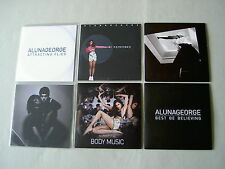 ALUNAGEORGE job lot of 6 promo CDs Body Music Best Be Believing I Remember