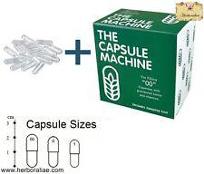 Machine à remplir vos gélules vides de taille 00 + 200 gélules vides offerte !!