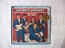 LES CHATS SAUVAGES / ALBUM 2 DISQUES  /33 TOURS