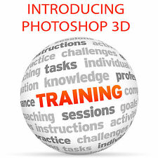 L'introduzione di Photoshop 3D-formazione VIDEO TUTORIAL DVD