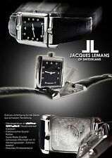 JACQUES LEMANS UNISEX REVERSE UHR  SWISS MADE EXTRAVAGANT