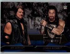 2016 WWE Then Now & Forever Rivalries #5 AJ Styles Roman Reigns