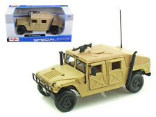 Maisto 1/27 Scale Hummer Military Humvee Sand Diecast Truck Model 31974