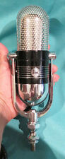 RESTORED AIWA VM 12 VELOCITY PRO RIBBON MICROPHONE in BOX & COMPARABLE TO RCA 77