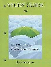 Study Guide for Fundamentals of Corporate Finance by Harford, Jarrad, DeMarzo, P