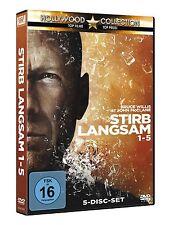 STIRB LANGSAM 1-5 TEIL 1 2 3 4 5 BRUCE WILLIS DVD DEUTSCH