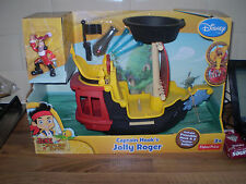 Disney Junior Jake and Never Land Pirates Hook's The Jolly Roger Pirate Barco Nuevo