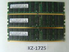 Samsung 12GB 3x4GB 2Rx4 PC2-5300P M393t5160QZA-CE6 # KZ-1725