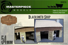 WILD WEST BLACKSMITH SHOP WITH FORGE 54MM FRONTIER SERIES