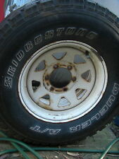 4wd wheel and tyre bridgestone dueler AT 6 stud