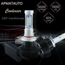 2x 9005 HB3 160W 16000LM CREE LED Headlight Kit Light Beam Bulb 6000K High Power