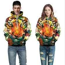Couples Men Women 3D Graphic Print Hoodie Jacket Sweater Sweatshirt Pullover Top