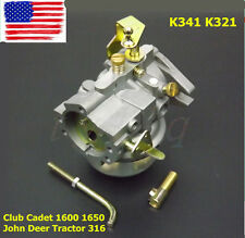 New Carburetor For Kohler K321 K341 Cast Iron 14hp 16hp Engine Carb US SELLER