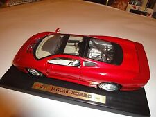 "Maisto Jaguar XJ220 Red 1:18 11"" Mint Condition Die Cast"