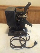 VINTAGE KEYSTONE 8 MM FILM MOVIE PROJECTOR MODEL R 8 WOODEN CASE