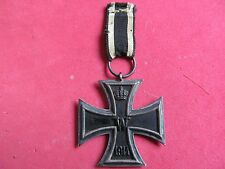 WW1 IMPERIAL GERMAN IRON CROSS 2nd CLASS MAKER MARKED
