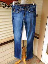 GENETIC DENIM JEANS SIZE 27 SLIGHTLY FLARED SKINNIES RECESSIVE GENE MADE IN USA