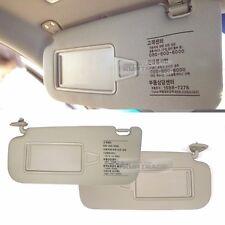 OEM Interior Hand Sun Visor Shade LH+RH Beige for HYUNDAI 2007 - 2010 Elantra HD