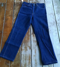 Vtg Usa Lee Riders western cowboy rodeo dark 33x30.5 denim jeans union pants