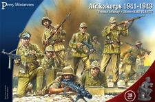 AFRIKAKORPS 1941 - 1943 GERMAN INFANTRY - PERRY MINIATURES - AFRICA CORP - WW2