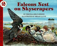 Falcons Nest on Skyscrapers (Let's-Read-and-Find-Out Science 2)-ExLibrary